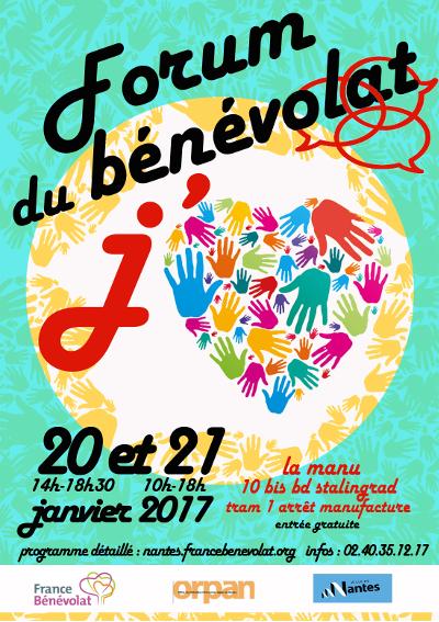 forum france bénévolat 2017 nantes - stand nantes-port-accueil